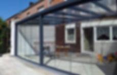 Beheizbarer Anbau Wintergarten in Leverkusen mit Isolierglas und Aluminium. Der Wintergarten Preis lag weit unter der Vorstellung vom Kunden und wird mit niedrigen Kosten beheizt