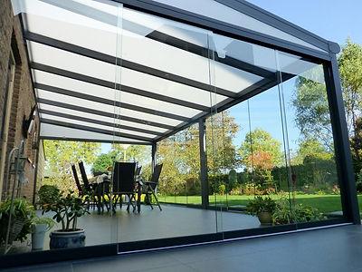 Terrassenüberdachung in Nettetal mit Wintergharten Solution. günstige Terrassendach Nettetal Angebote zu reduzierten Terrassendach Nettetal Preise.Terrassendach aus Alu mit Glasdach und Beleuchtung