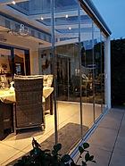 Glasschiebetüren für Terrassendach Köln