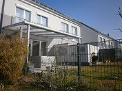 Terrassenüberdachungen Bremen aus Aluminium Profilen gebaut