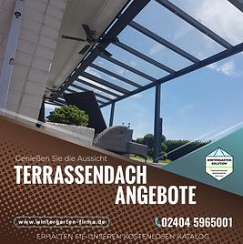 Terrassendach Wintergarten Solution. Terrassenüberdachung und Wintergarten Hersteller für Terrassendächer und Wintergärten aus Aluminium