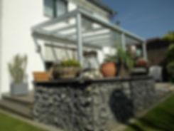 Sonderangebot Terrassendach mit Markise, Terrassendach Markise mit Motor zum Sonderpreis