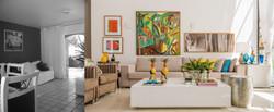 Galeria de arte na parede