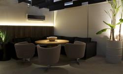 Mesa redonda para 6 pessoas