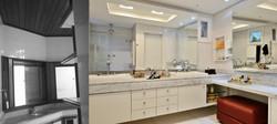 Banheiro máster modernizado