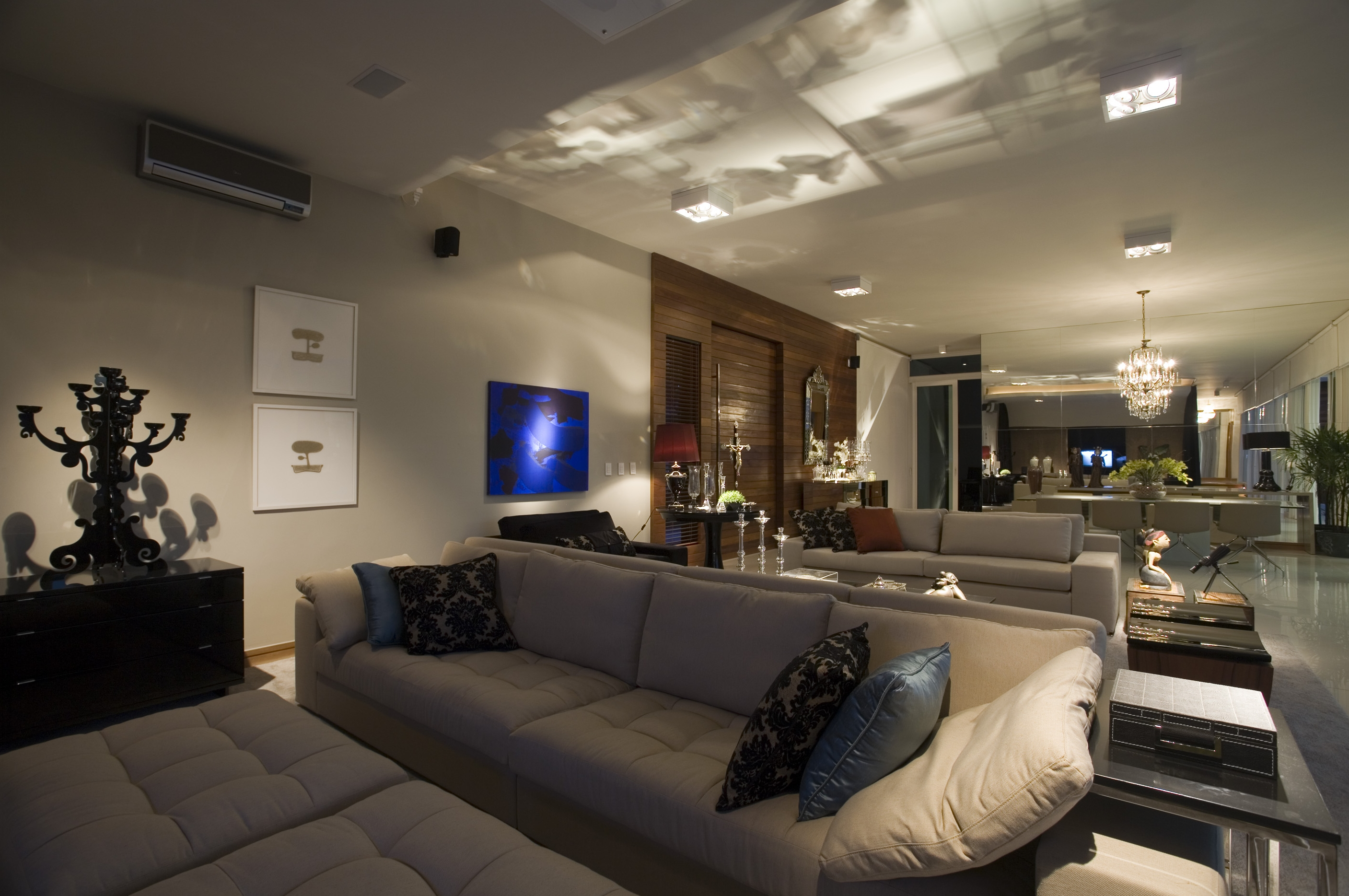 Home Theater com fufes