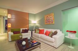 Sala de Estar com sofás em L