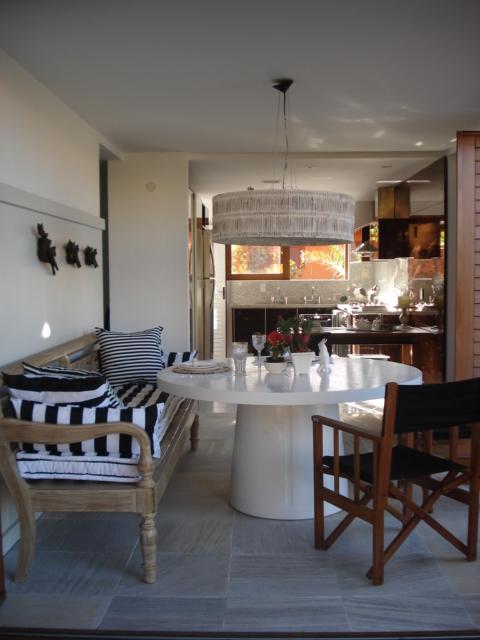 Sala de almoço ventilada