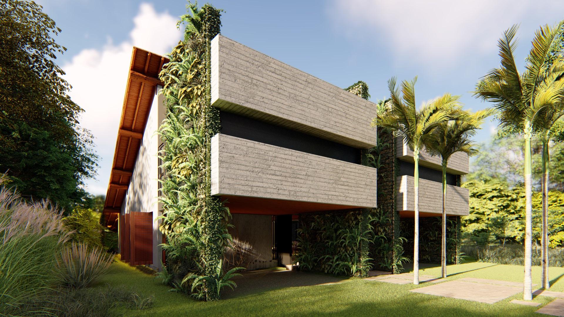 Projeto contemporâneo para casa de praia
