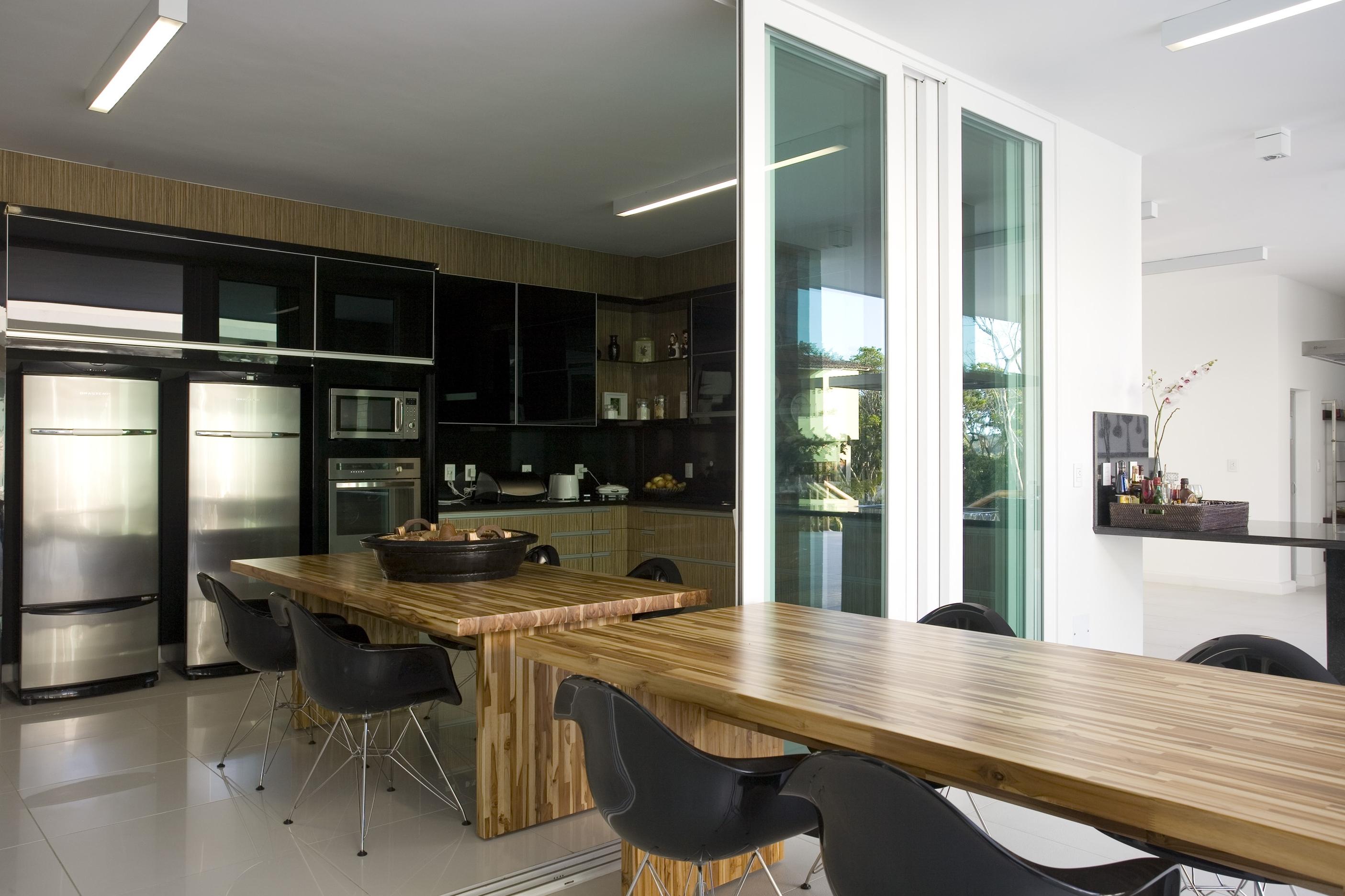 Cozinha e Espaço Gourmet integrados