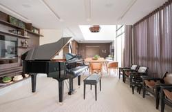 Sala do Piano integrada