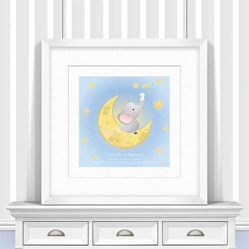 Shooting Stars Nursery Wall Art   Little Joe And Me