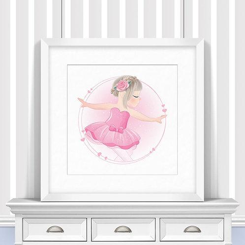 Ballet Trio Nursery Wall Art | Little Joe And Me
