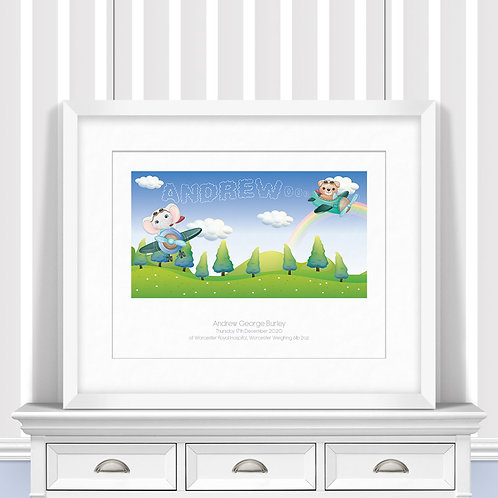 Planes Nursery Wall Art | Little Joe And Me