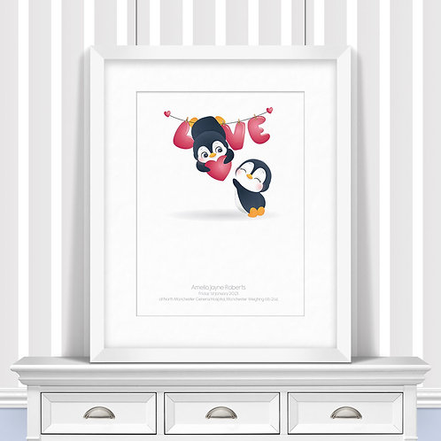 Holding Out For Love Nursery Wall Art | Little Joe And Me