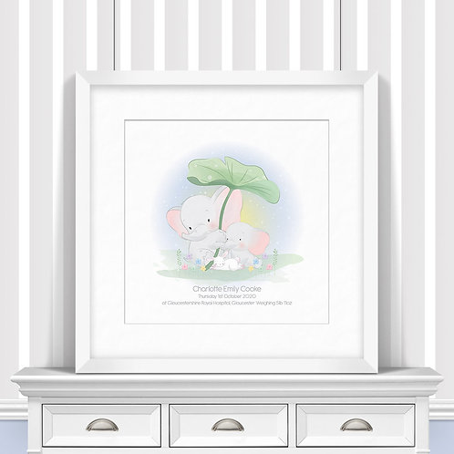 Summer Showers Nursery Wall Art | Little Joe And Me