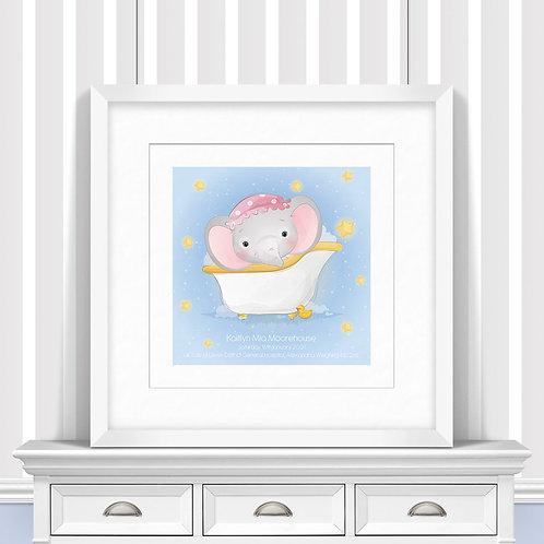 Bath Time Nursery Wall Art | Little Joe And Me