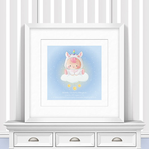 Its A Girl Nursery Wall Art | Little Joe And Me