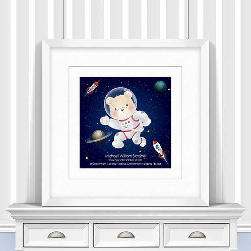 Space Nursery Wall Art | Little Joe And Me