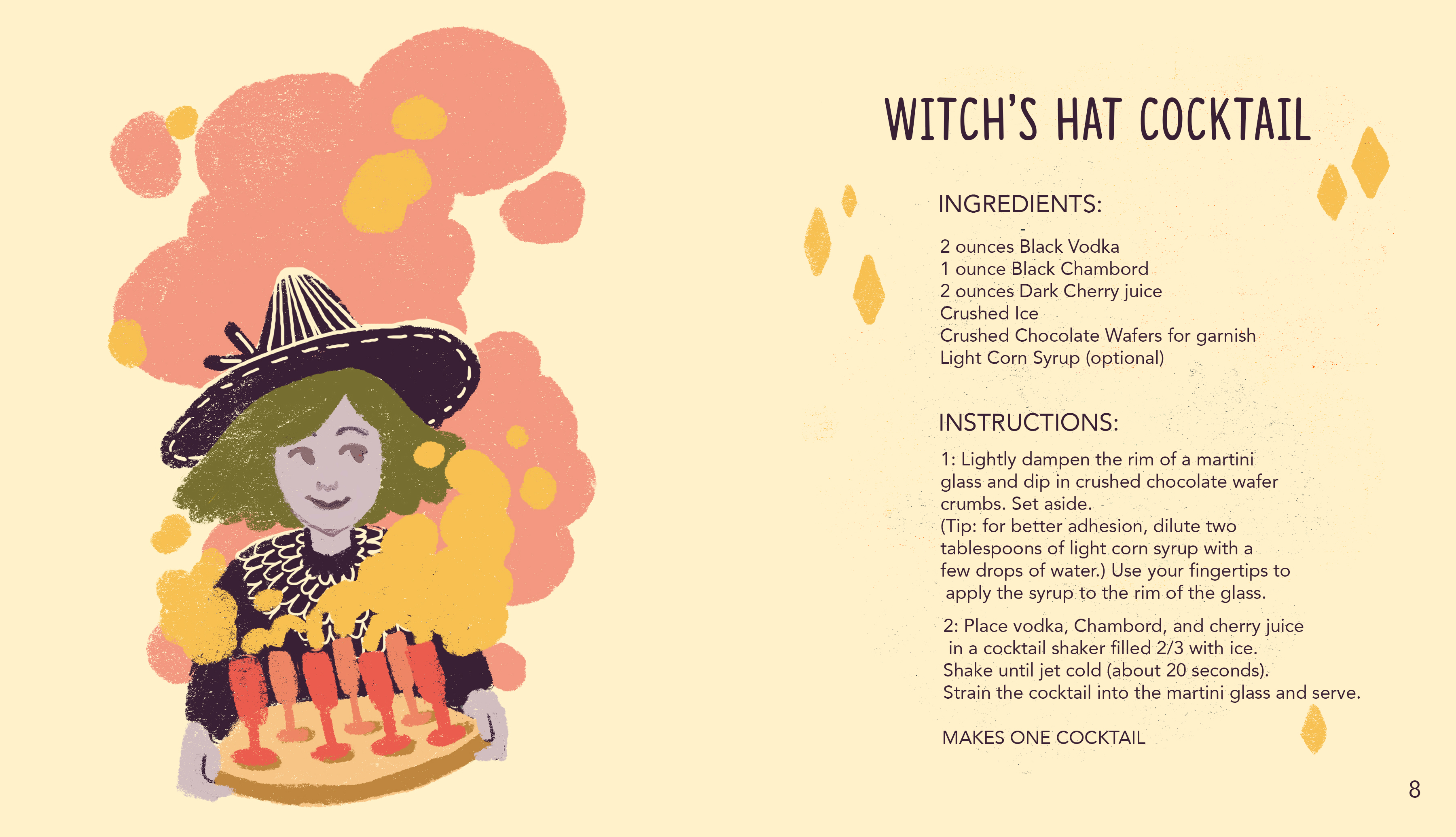 Witch's Hat Cocktail 2