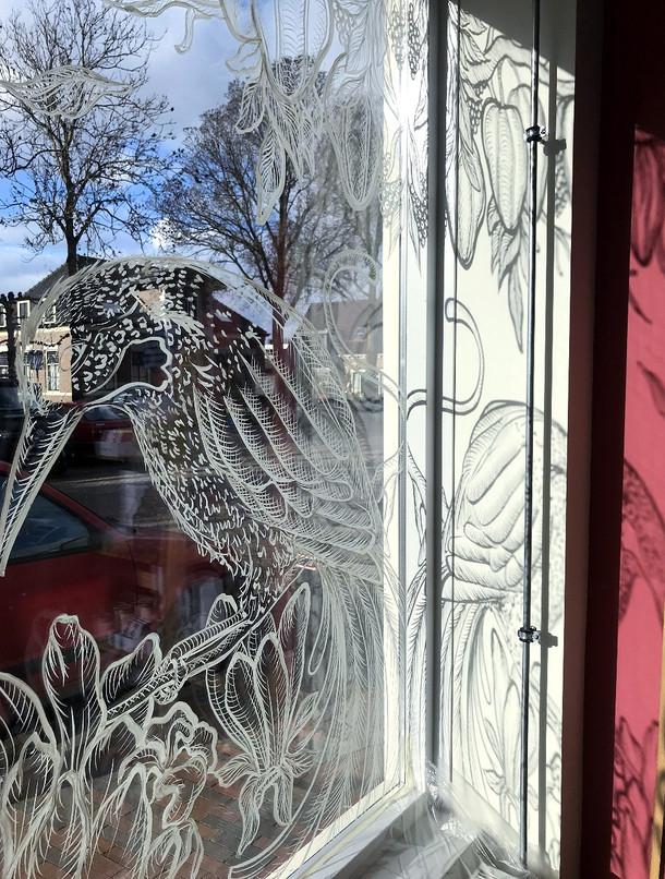 Window Art Shadow lines