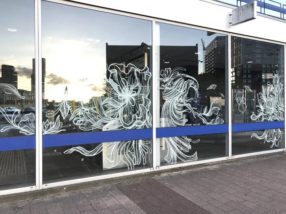 Participation International Street Art Festival POW! WOW! Rotterdam