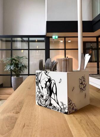Cutlery Tray's Restaurant Bunk Hotel Utrecht