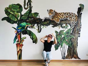 Jungle Themed Kidsroom