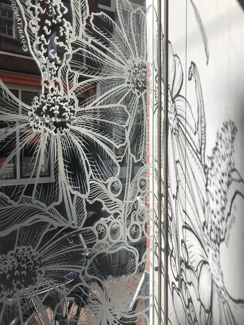 Window Art 'Lief Leven' Store