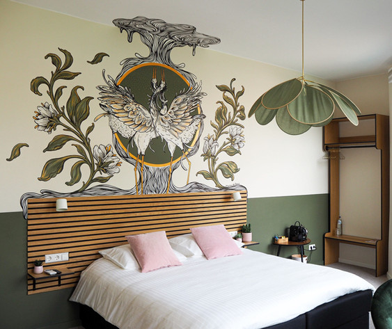 Hotelroom - Boutique Hotel La Paulowna, The Hague (NL)