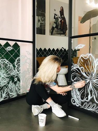 Window Art Headoffice 'Catwalk Junkie' Amsterdam