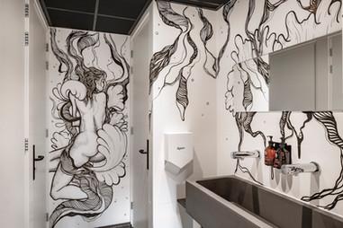 Ladies Toilet Bunk Hotel Utrecht