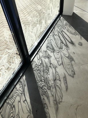 Window Art Reflection