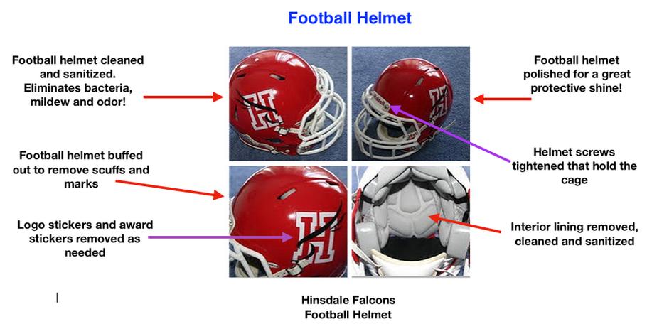 Football Helmet Reconditioning
