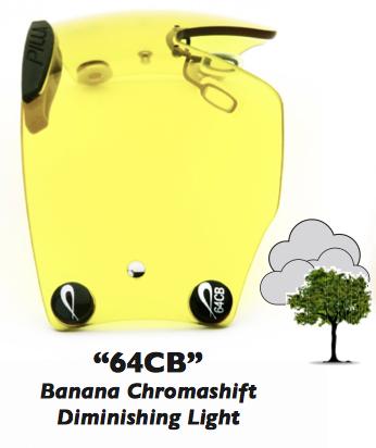"""Zeiss Chromashift """"64CB"""" Banana Chromashift"""