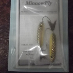 The Double or Tethered Minnow Fly $12.95