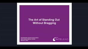 The Art of Standing out without Bragging