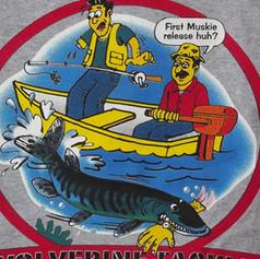 Wolverine Tackle T-shirt BACK