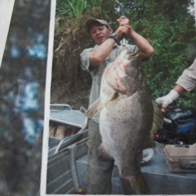 Jason Yip 46 lb. IGFA All Tackle World Record PNG Black Bass