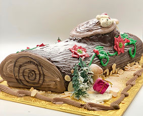 lutz chicago bakery yule log
