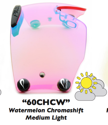 "Zeiss Chromashift ""60CHCW"" Watermelon Chromashift"