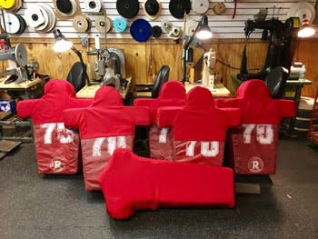 Blocking sleds reconditioned!