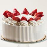 Strawberry Whipped Cream Cake