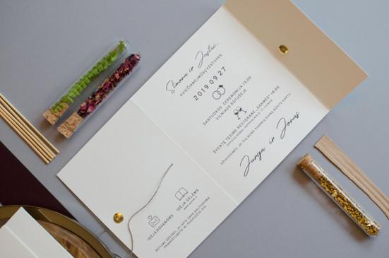 vestuviniai kvietimai botaniniai motyvai br