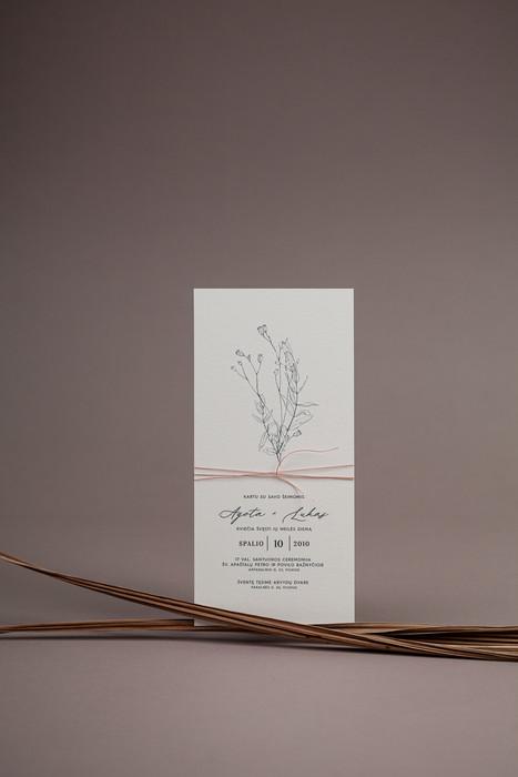 vestuviniai kvietimai augalu poezija bru