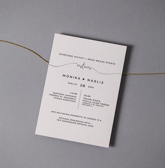 vestuviniai kvietimai marmuras folijavim