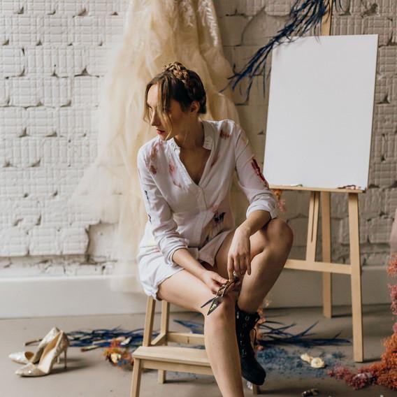 vestuviniai kvietimai tapybos įkvėptas b
