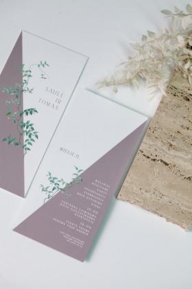 vestuviniai kvietimai pastele vijoklis b