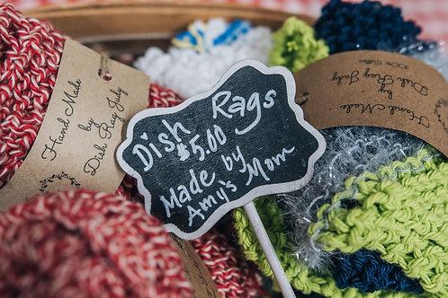 Handmade Dish Rags