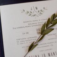 vestuviniai kvietimai melsvasis eukalipt